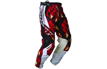 Fly Racing Hose Kinetic Men rot-schwarz